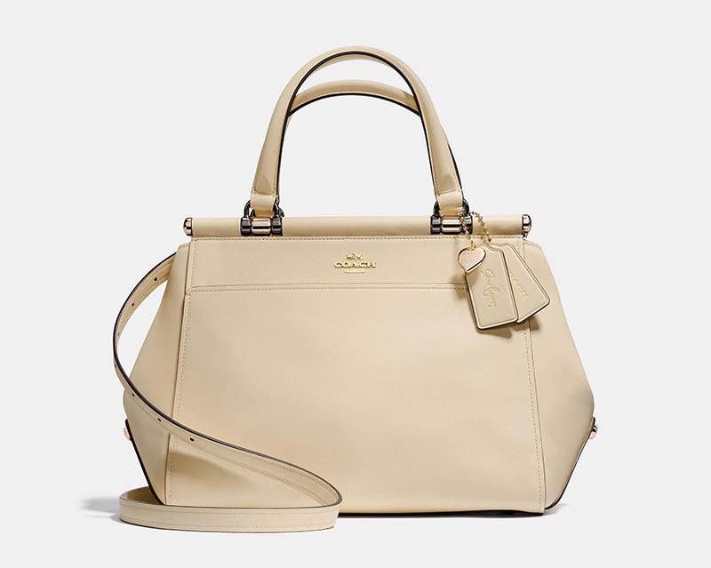 Coach x Selena Gomez 'Selena Grace' Bag in Light Gold $395