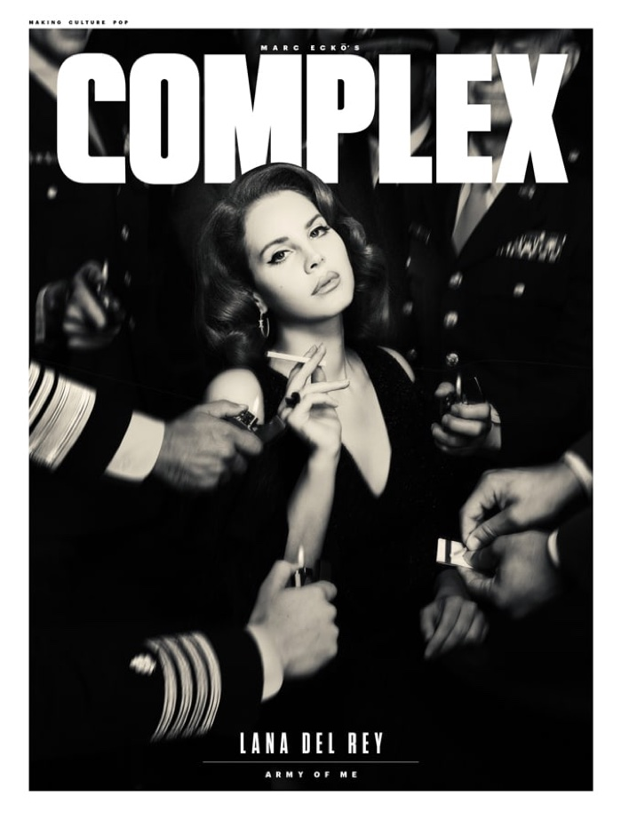Lana Del Rey on Complex Magazine August 2017 Cover