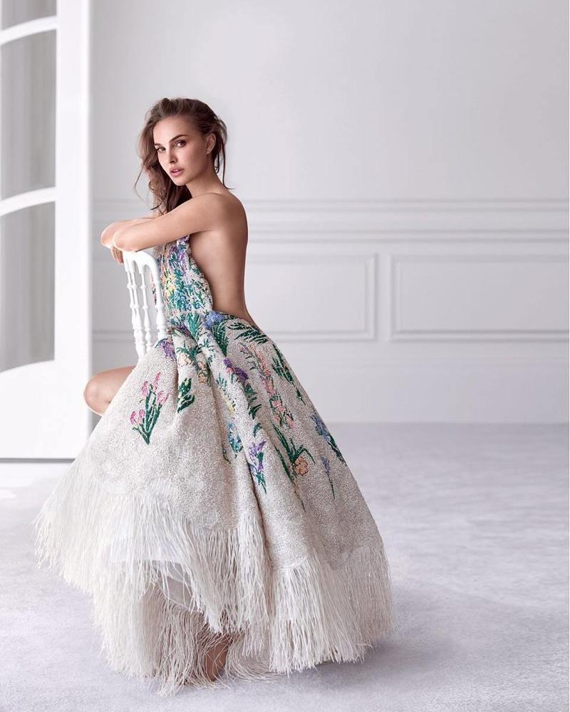 Actress Natalie Portman stars in Miss Dior eau de parfum campaign