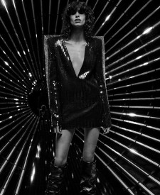ad2b9d1292e Saint Laurent Turns Up the Shine Factor for Fall 2017 Campaign