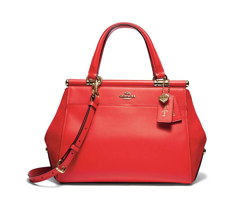 A look at the 'Selena Grace' Coach bag