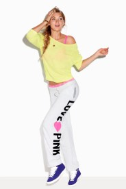 Model Elsa Hosk for Victoria's Secret Pink (2011)