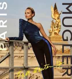 essay does sex really sell in fashion  natasha poly looks super sleek in mugler s fall 2017 campaign