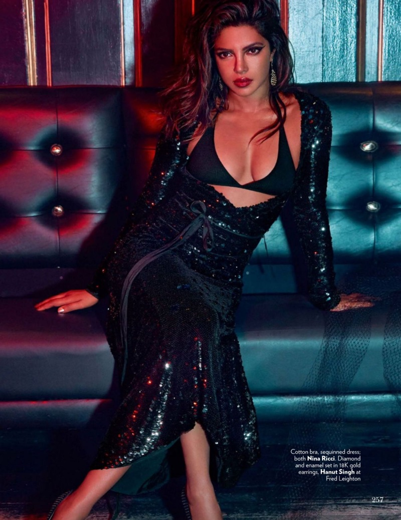 Priyanka Chopra Turns Up The Shine Factor For Vogue India