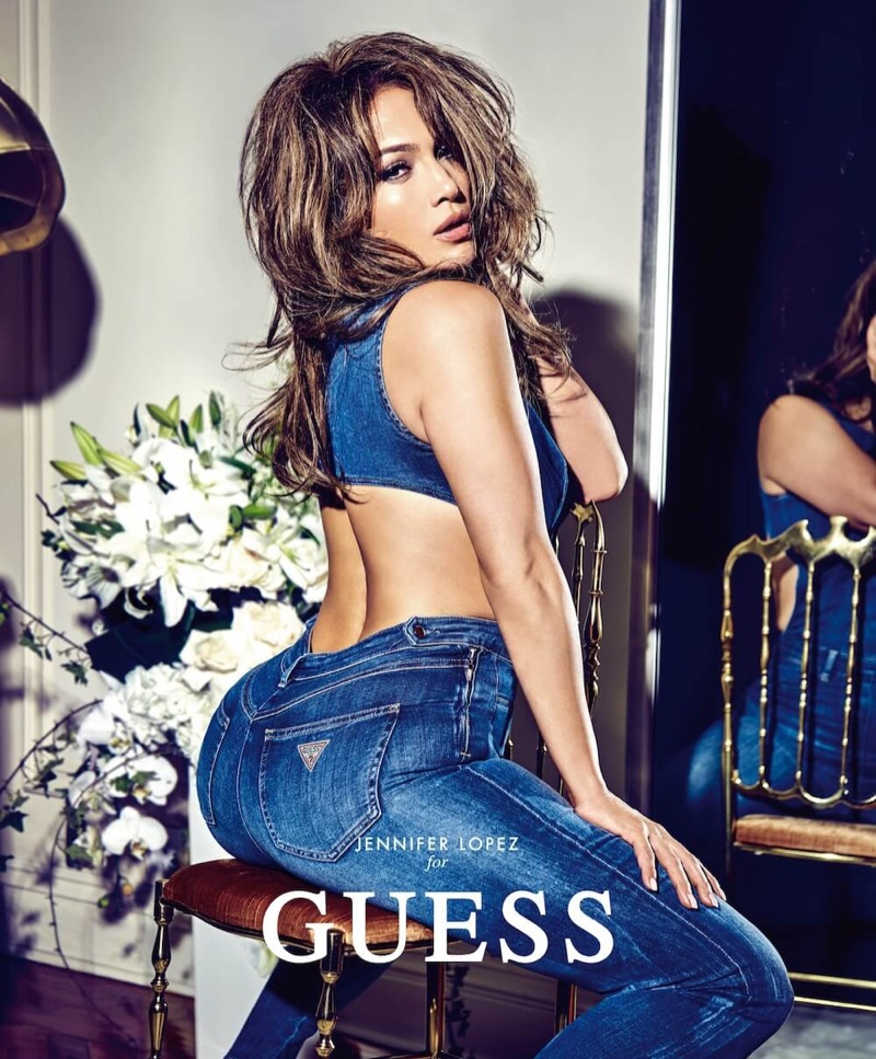 Jennifer Lopez stars in Guess' spring-summer 2018 campaign