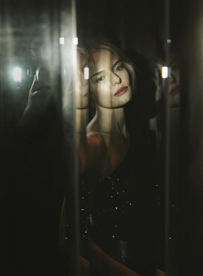 Kate Bosworth glitters in Diane Von Furstenberg dress