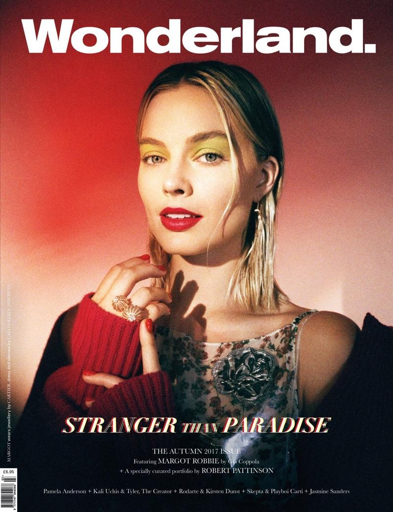 Margot Robbie on Wonderland Magazine Autumn 2017 Cover