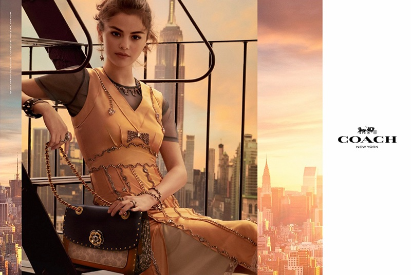 Selena Gomez appears in Coach spring-summer 2018 handbag campaign
