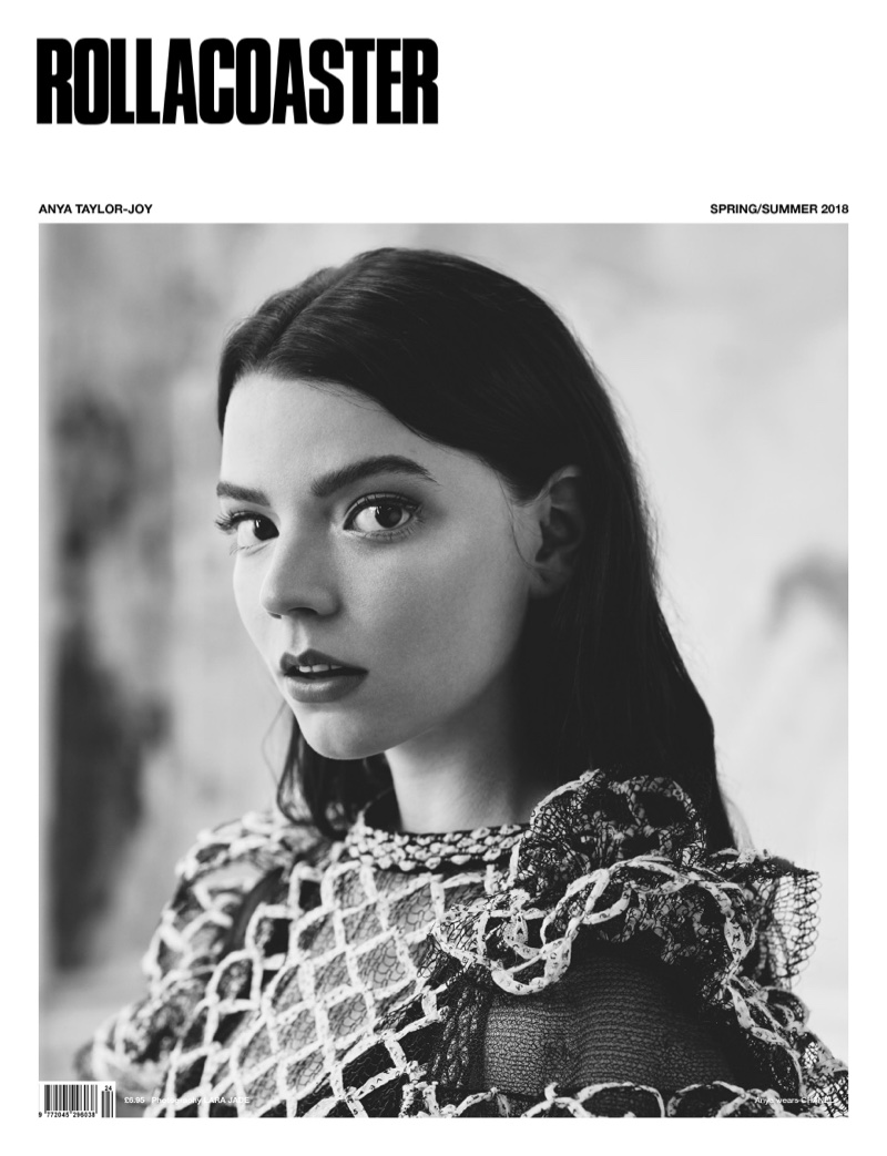 Anya Taylor-Joy on Rollacoaster Magazine Spring/Summer 2018 Cover