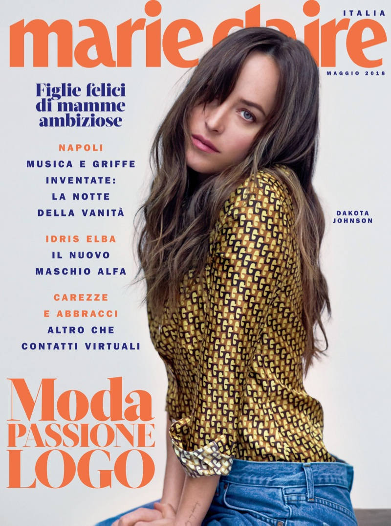 Dakota Johnson on Marie Claire Italy May 2018 Cover