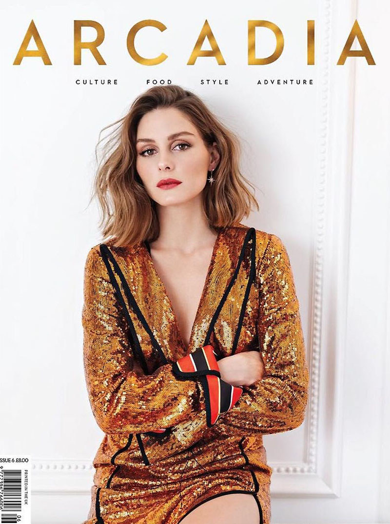 Olivia Palermo on Arcadia Magazine Spring 2018 Cover