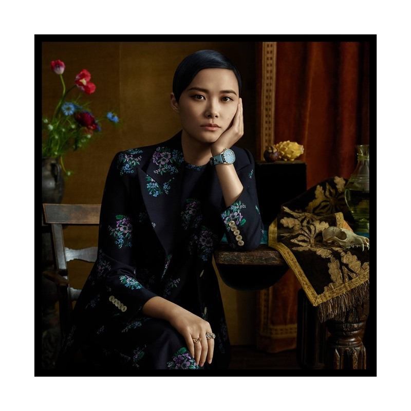Chris Lee fronts Gucci Jewelry + Timepieces campaign