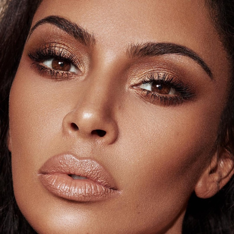 KKW Beauty Classic Collection look worn by Kim Kardashian