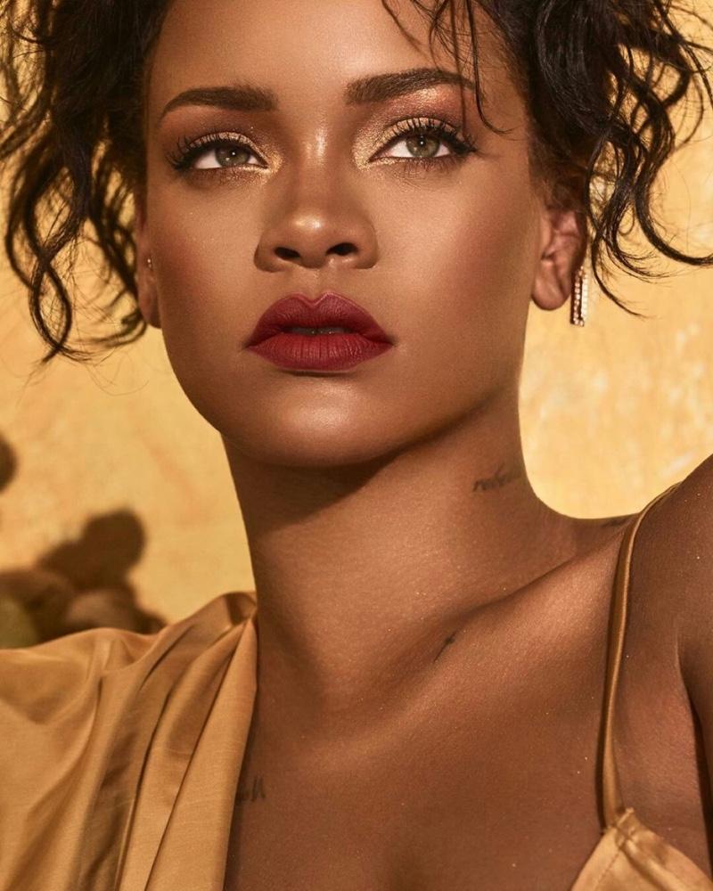 Rihanna stars in Fenty Beauty Moroccan Spice campaign