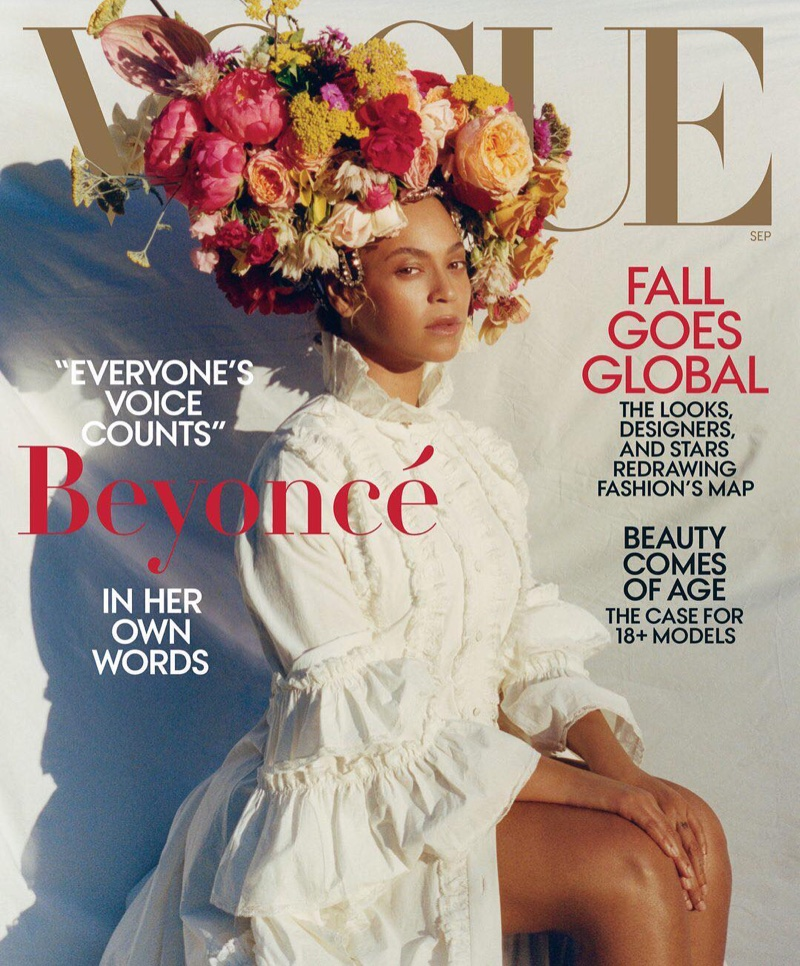 Beyonce on Vogue US September 2018 Cover