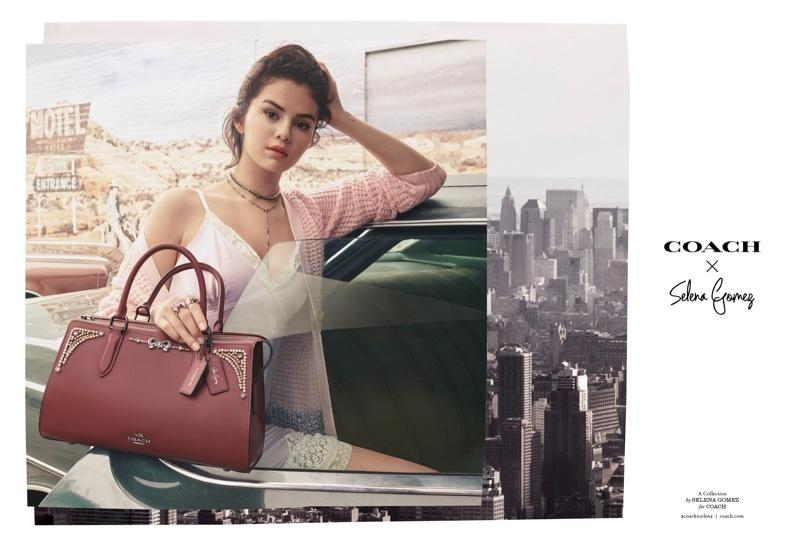 Selena Gomez stars in Coach x Selena Gomez fall-winter 2018 campaign