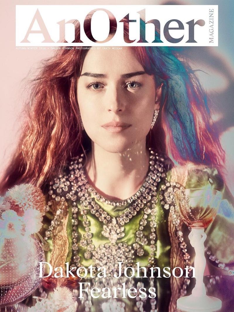 Dakota Johnson on AnOther Magazine Fall-Winter 2018 Cover