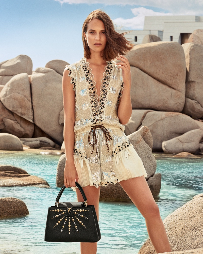Alicia Vikander stars in Louis Vuitton cruise 2019 campaign