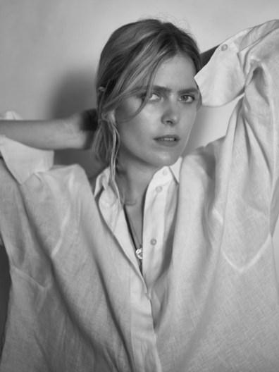 Massimo Dutti spotlights minimal style worn by Ines Melia