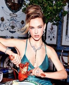 Hannah Ferguson Heats Up Orlov Jewelry Campaign