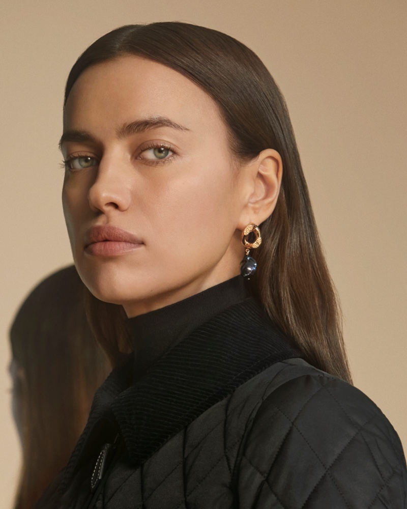 Irina Shayk Stands Out in Burberry Pre-Fall 2020 Campaign