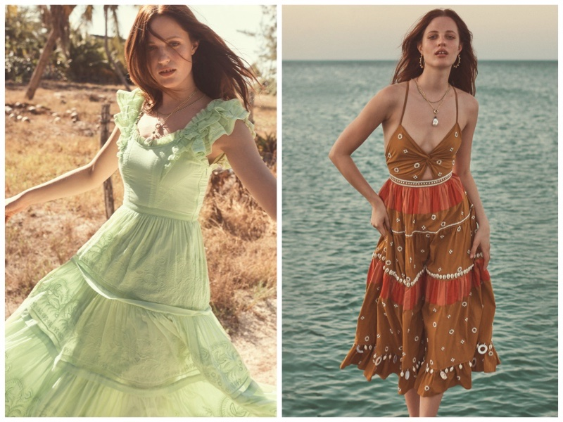 Ulla Johnson summer 2020 clothing collection.