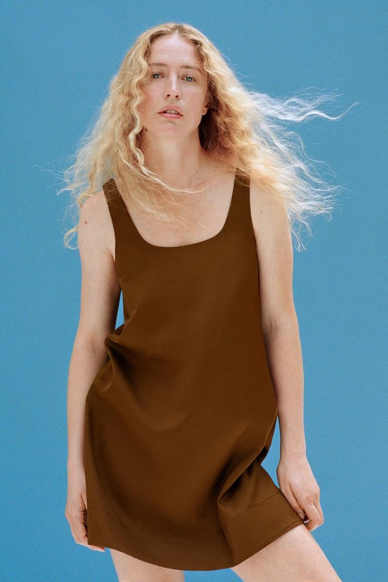 Zara Join Life Strappy Mini Dress.