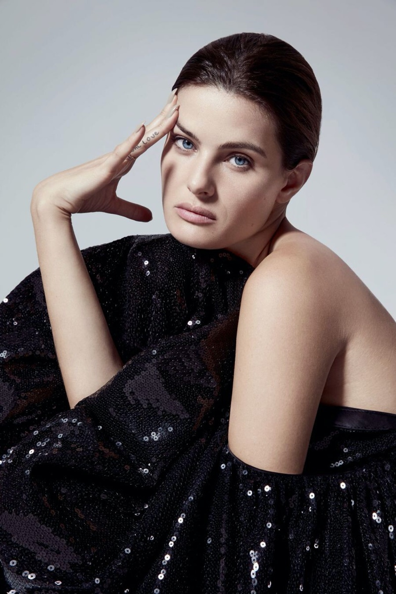 Isabeli Fontana Models Glamorous Dresses for Marie Claire Argentina