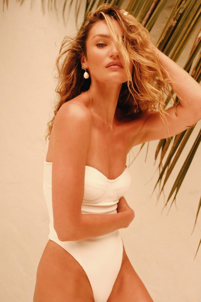 Candice Swanepoel Sizzles in Tropic of C Resort 2021 Swim