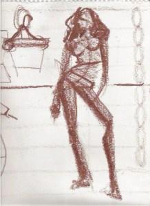 fashion sketch proportions Laura Volpintesta fashion model drawing