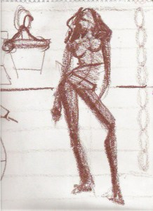 fashion sketch proportions Laura Volpintesta fashion model drawing