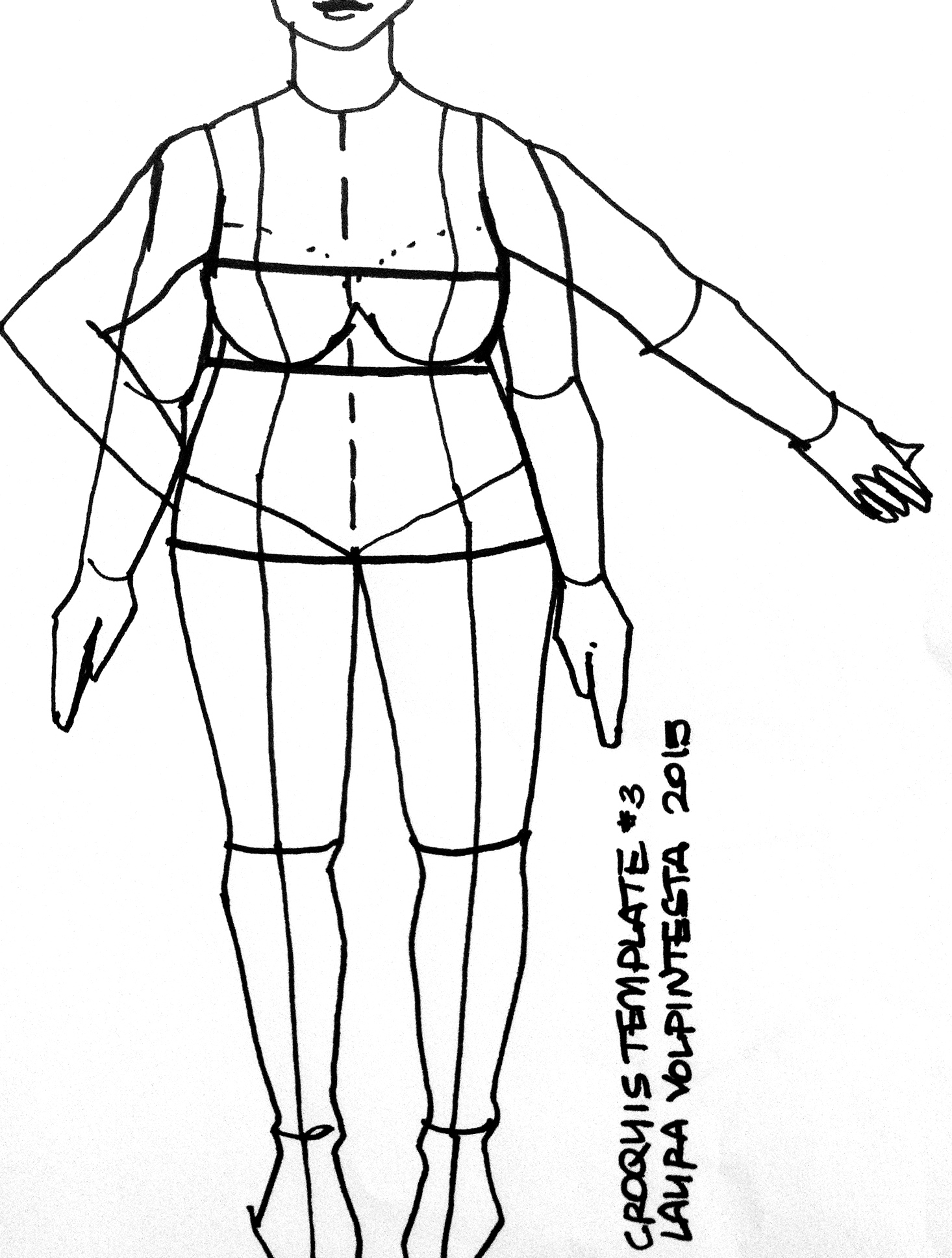 Plus size fashion croquis templates really. All