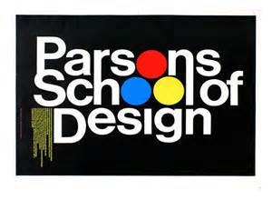 Parsons School of Design Logo, 1990s
