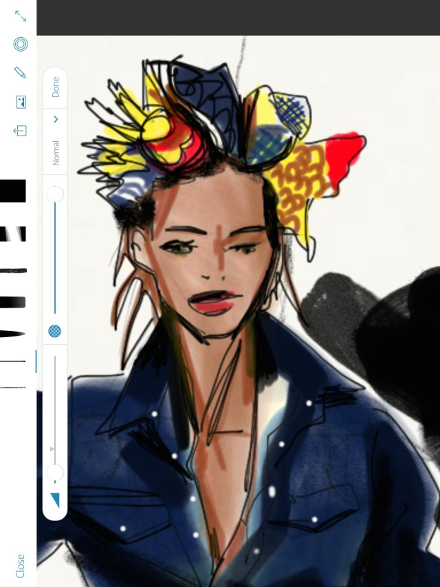 Laura Volpintesta, FAshion Illustration Tribe,