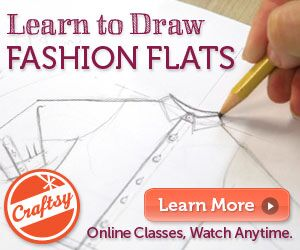 drawing fashion flats