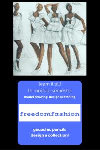 freedom fashion 2017 learn fashion design online