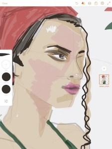 apps for fashion illustration Adobe Illustrator Draw app, Sketch by Laura Volpintesta