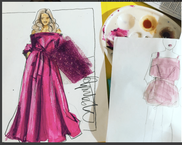 Eveningwear Fashion Design Illustration Online Course