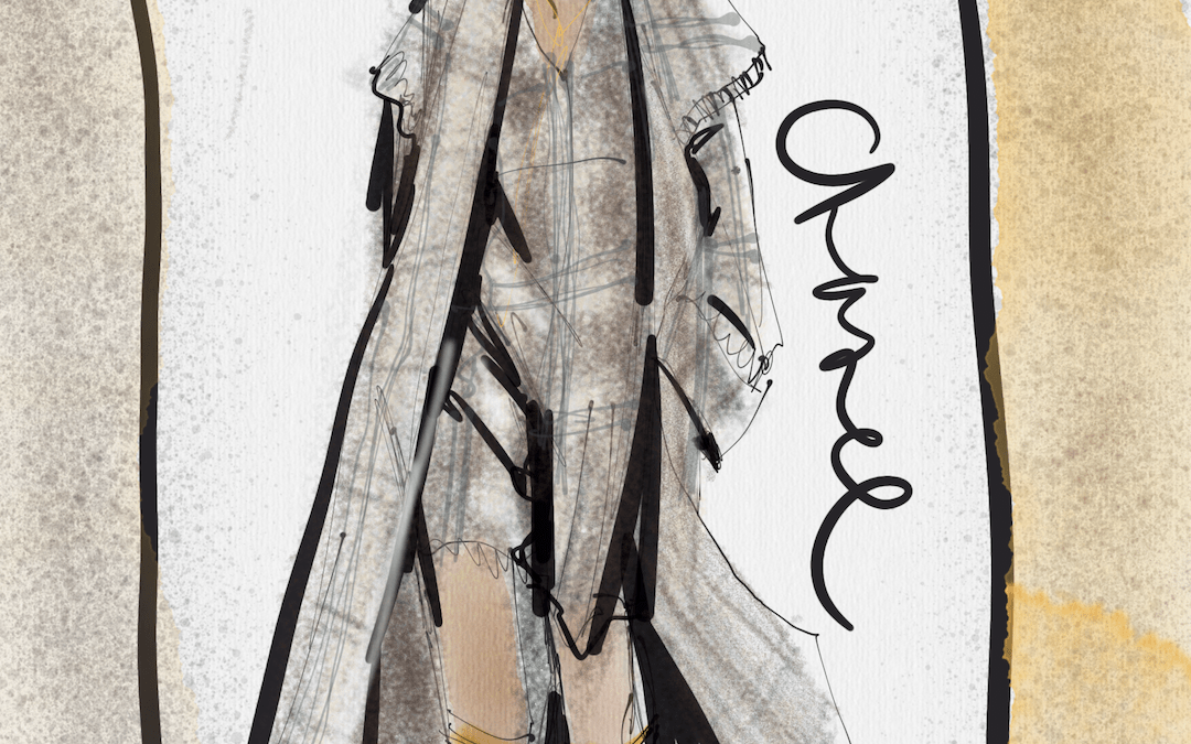 IPad Pro Fashion Illustration