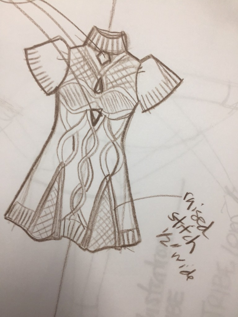 Designing Sweaters And Sketching Knits For Fashion Design