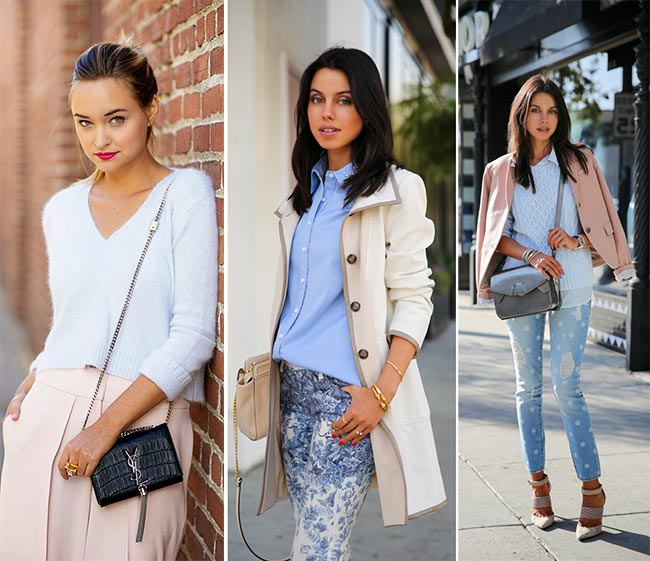 How to Wear Pastel Colors in Winter