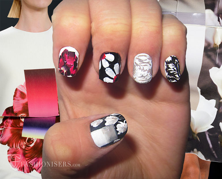 Nail Art Designs Inspired From Spring 2017 Runway Fashionisers