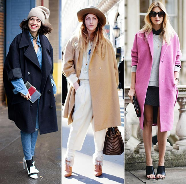 How to Wear an Oversized Coat