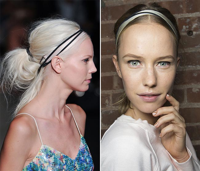 Spring/ Summer 2015 Hair Accessory Trends: Ballerina Chic Hair Accessories