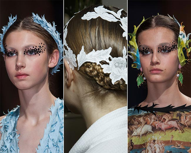 Spring/ Summer 2015 Hair Accessory Trends: Creative Hair Accessories