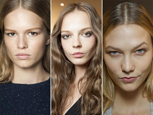 Spring/ Summer 2015 Hairstyle Trends: Center Hair Parting
