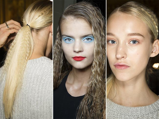 Spring/ Summer 2015 Hairstyle Trends: Crimped Hair