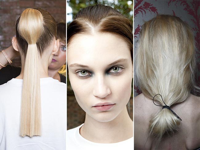 Spring/ Summer 2015 Hairstyle Trends: Ponytails