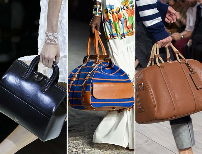 Spring/ Summer 2015 Handbag Trends: Doctor Bags
