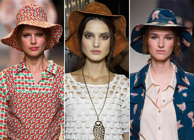 Spring/ Summer 2015 Headwear Trends: Floppy Hats